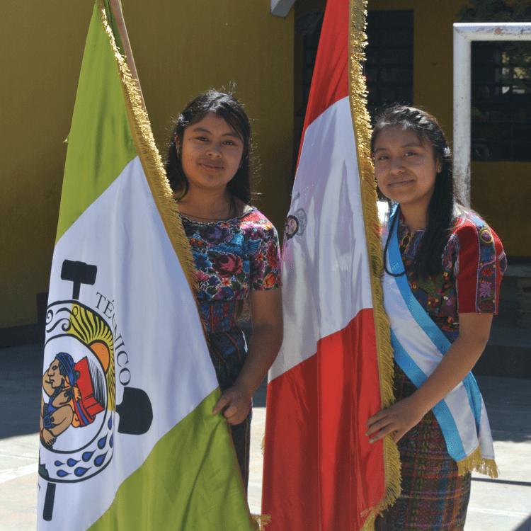 Guatemalan women high school graduates